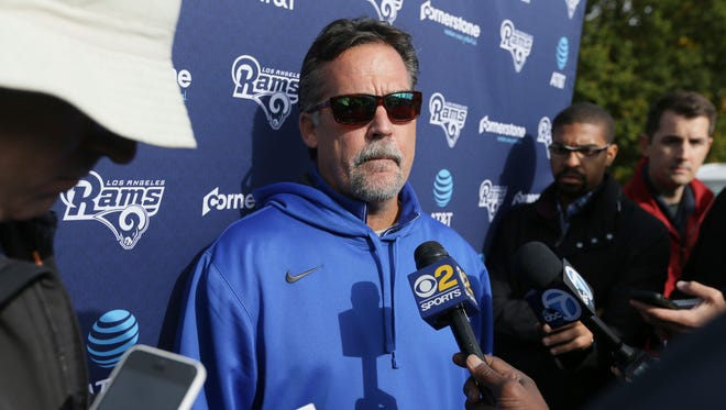 Rams coach Jeff Fisher has taken his team to London before.