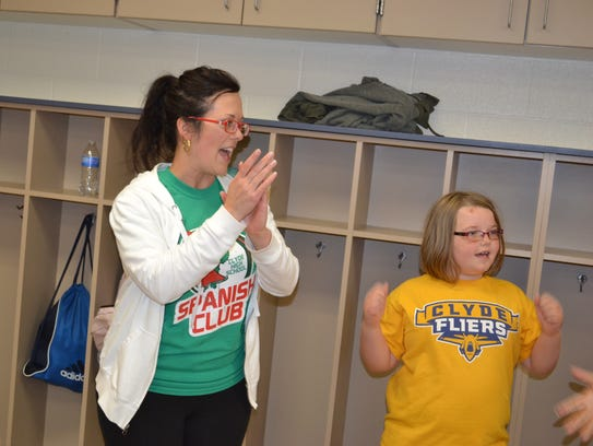 Heather Murray hosted the Spanish Summer Camp to give