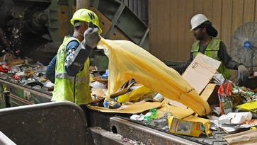 Plastic bags, garbage are plaguing Brevard's recycling plant, forcing costly shutdowns