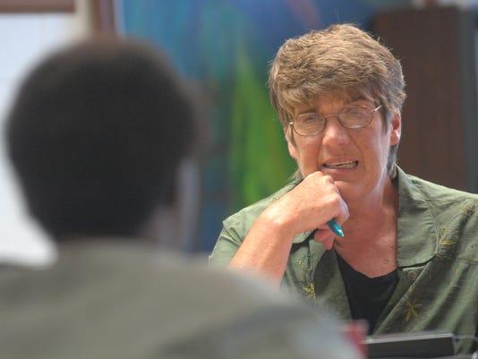 Mayor Sally Hutton