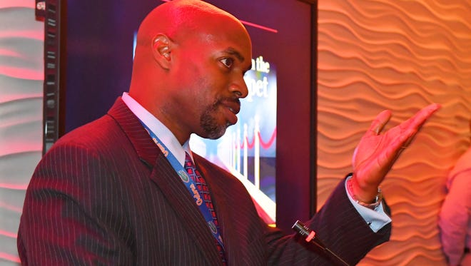 Desmond Blackburn, Ph.D., Brevard Public Schools Superintendent, was honored at Readers on the Red Carpet. Rolling Readers Space Coast held their 3rd Annual Literacy Advocates of the Year event at Exploration Tower in Port Canaveral on November 3, 2017.