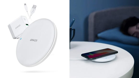 Take advantage of your phone's wireless charging capabilities.