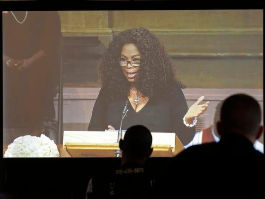 Oprah on screen