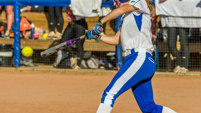 FGCU senior center fielder Kelsey Carpenter, who leads the team in hits, home runs, RBI and slugging, is considered one of the best-conditioned athletes at the school.