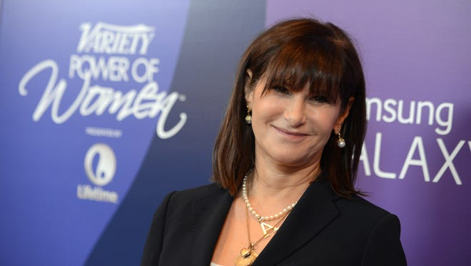 Amy Pascal, shown in 2013, is leaving her job as Sony Pictures Entertainment co-chairman in May.