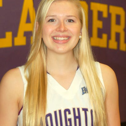 Twin Tiers Christian Academy graduate Maisie Pipher averaged 15.5 points, 10.6 rebounds and 2.4 blocked shots per game this season for Houghton College.