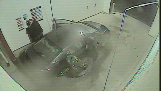 St. Clair Police are searching for a man believed to have robbed the Blue Water Auto Wash Sunday evening. Police believe it to be the same man who robbed the car wash in May 2017.
