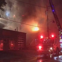 Fire damages several buildings in Loveland's Historic District