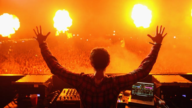 Russian DJ/producer Zedd performs at Firefly Music Festival on June 19, 2015 in Dover.