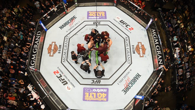 The UFC will be coming to  Fiserv Forum on Dec. 15.