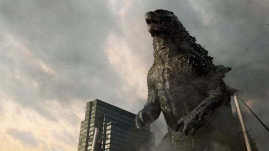 """""""Godzilla"""" stomped all over the box office in its opening weekend."""