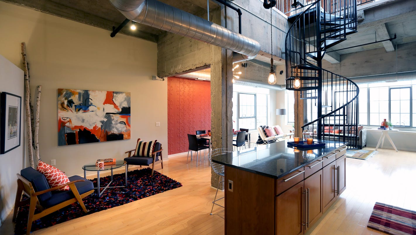 house envy ann arbor loft has top of building view. Black Bedroom Furniture Sets. Home Design Ideas