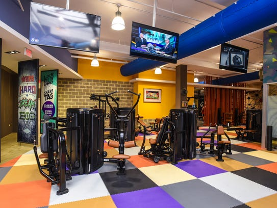 The Paradise Premium Fitness located at the Fountain