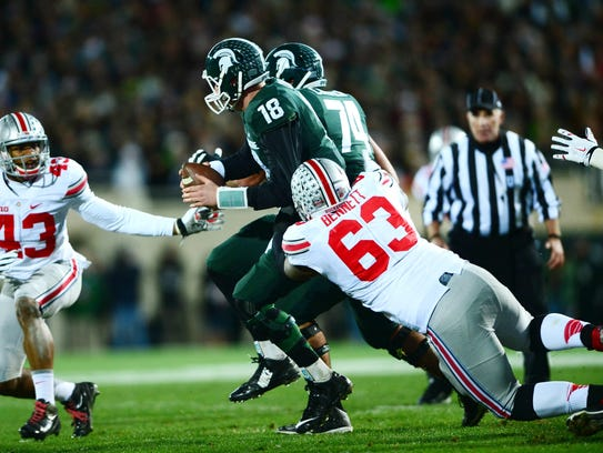 Michael Bennett is part of a strong Ohio State defensive