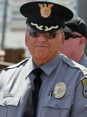 Ocean County Sheriff Michael G. Mastronardy in Seaside Heights in 2014.