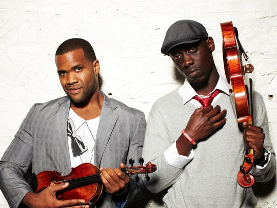 Courtesy photo  Black Violin, two classically trained