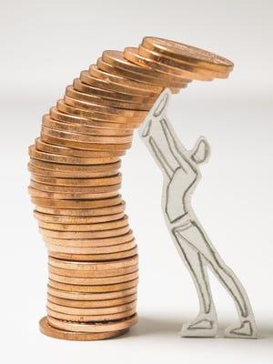 La mejor manera de evitar deudas este enero es gastar sólo la cantidad que permite su presupuesto