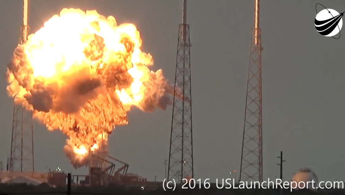 SpaceX Falcon 9 rocket, satellite destroyed in explosion