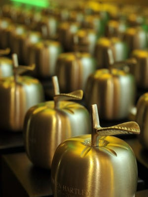 The Escambia County Teacher of the Year will be announced Friday at the Golden Apple Dinner and be in the running for Florida Teacher of the Year.