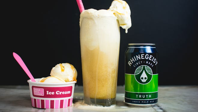 Rhinegeist Brewery and UDF are releasing Tropical Truth ice cream.