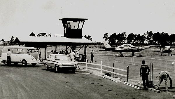 Cape Coral had an airport with two 4,000-foot, lighted runways and a radio control tower.