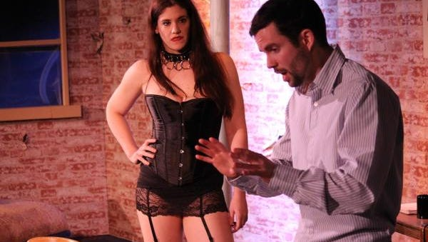 """""""Venus in Fur,"""" the new production from Bootless Stageworks, at The Black Box at OperaDelaware Studios."""