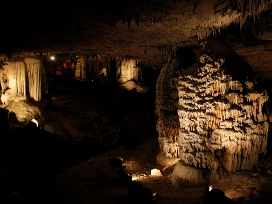 Fantastic Caverns draws about 250,000 visitors through