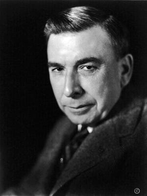 """Author Booth Tarkington won the Pulitzer Prize twice in his career. He was best known for his novels """"The Magnificent Ambersons"""" and """"Alice Adams""""."""