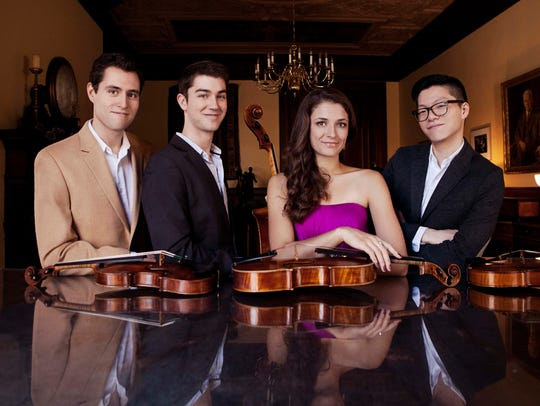 The Dover Quartet performs Friday night at the University
