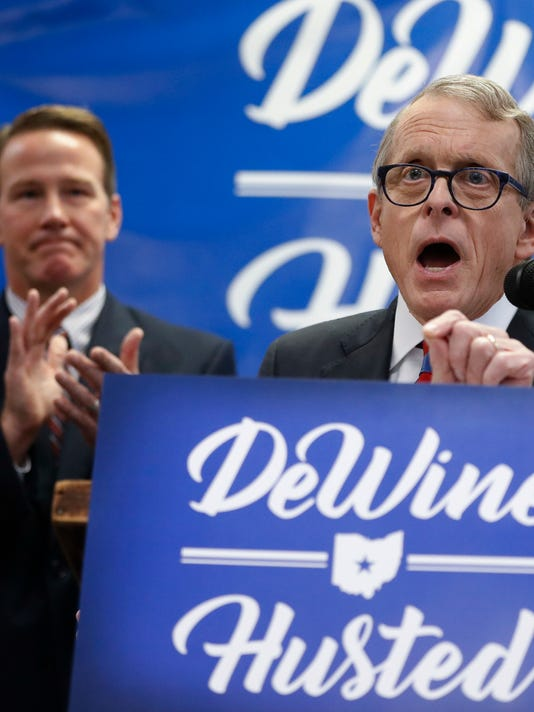 Mike DeWine, Jon Husted