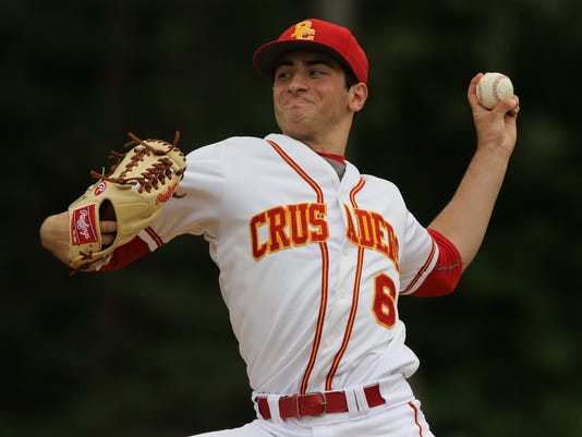 The Bergen County Tournament baseball Quarterfinals --  Old Tappan vs Bergen Catholic --