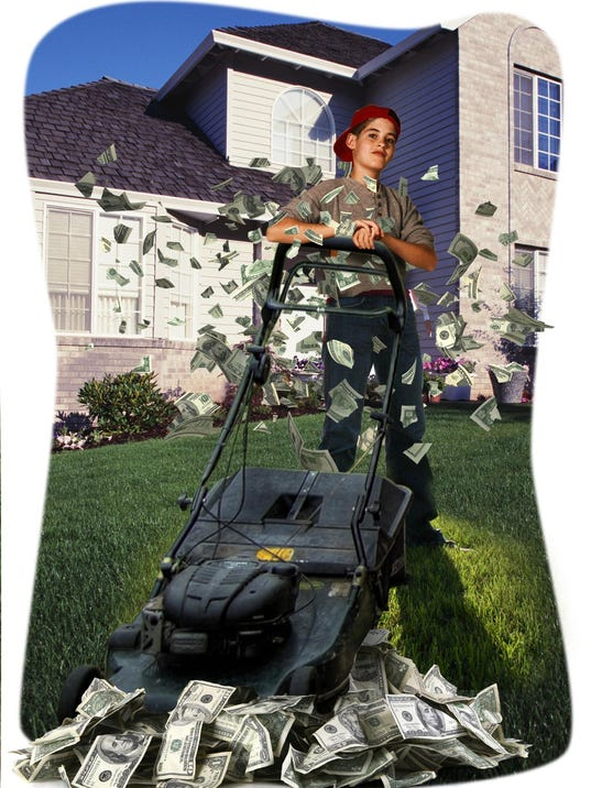 lawnmower kid