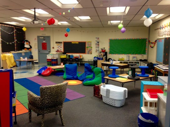 School officials say alternative seating is one way