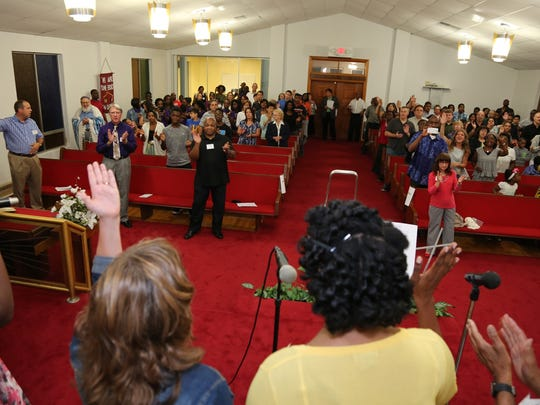 The Acts Church presented its 12th annual Prayer Rally