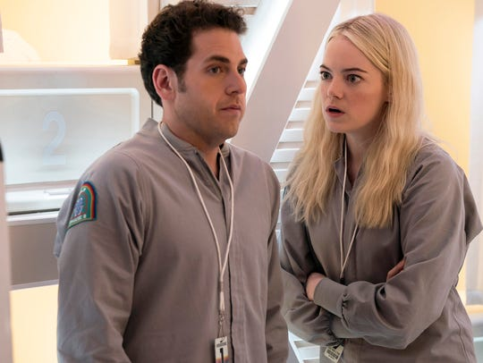 Netflix's 'Maniac',  starring Emma Stone and Jonah Hill, premieres Friday.