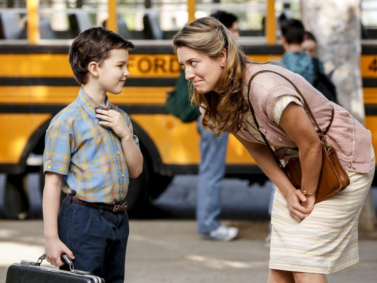 Iain Armitage plays 'Young Sheldon,' a 9-year-old version