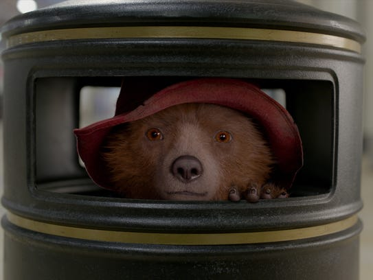 Paddington (voiced by Ben Whishaw) is in another muddle