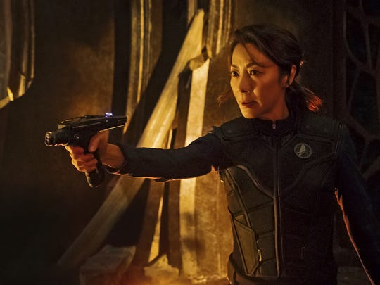 Michelle Yeoh plays Capt. Philippa Georgiou on CBS