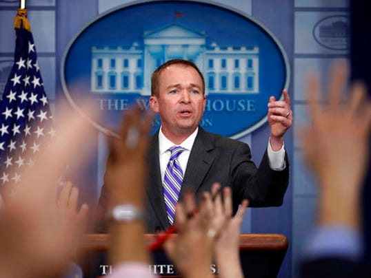 Sean Spicer, Mick Mulvaney