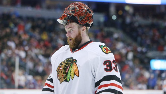 Scott Darling has been traded to the Carolina Hurricanes.