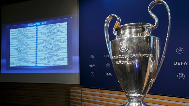 Champions League games will be streamed in the United States on the Fox Sports Facebook page and the FOX Deportes Facebook page.