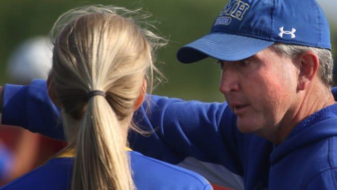 John Burke spent 25 seasons as coach of the girls soccer program at Catholic Memorial.