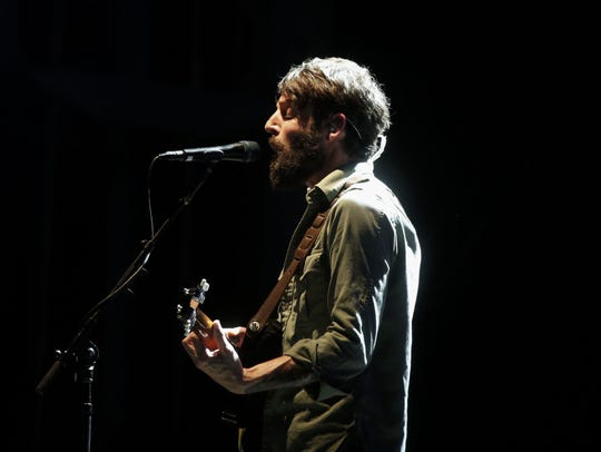 Ray LaMontagne performs during Hinterland on Friday,