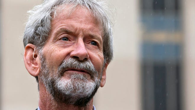 Douglas Hughes landed a gyrocopter outside the U.S. Capitol as political protest in April of 2015.