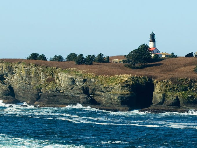 Cape Flattery Lighthouse: You can catch a glimpse of