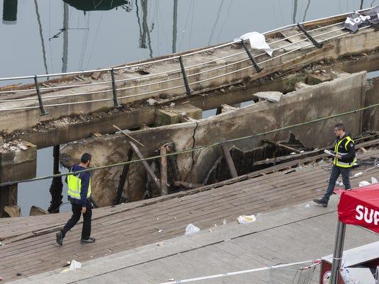 Spain Boardwalk Collapse