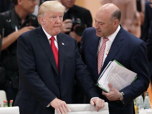 Donald Trump, Gary Cohn