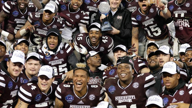 Mississippi State could be headed to Florida for Christmas this year.