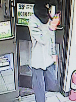 This is the suspect in the armed robbery of a 7-Eleven on Skyline Boulevard in Cape Coral on July 24.
