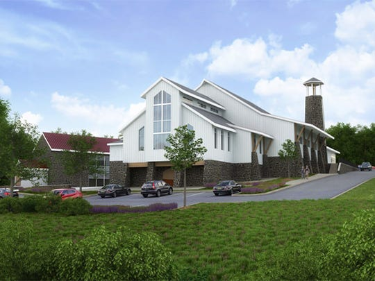 Trinity Church plans to build a 20,000 square feet church at the top of the hill at Coffee Run. The site was the location of the first Catholic Church in Delaware.